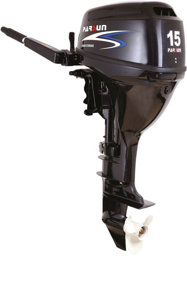 15hp parsun 4 stroke outboard motor manual electric start for 15 hp electric boat motor